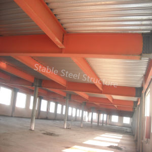 High Rise Multi-Storey Steel Structure Metal Office Building with Block Wall pictures & photos