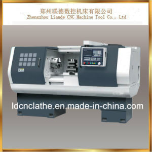 High Precision Automatic Bench CNC Metal Cutting Lathe pictures & photos