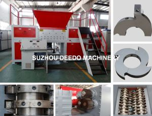 Double Shaft Shredder for Fishing Net pictures & photos