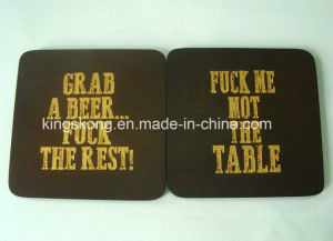 Wood Cork Coaster Sets pictures & photos