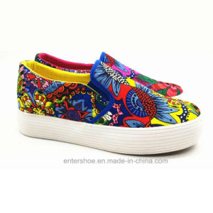 High Top Canvas Women Shoes Sneaker (ET-YH160338W) pictures & photos