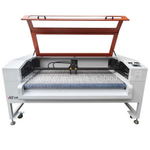 CO2 Dual Head with Auto Feeding and Auto Laser Control Laser Cutting /Engraving Machine (WZ160100DI-AF)