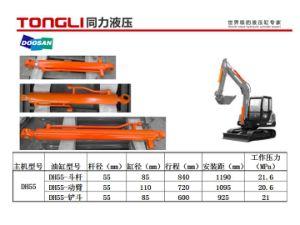 OEM Parts Dh55 Doosan Excavator Boom Cylinder / Hydraulic Cylinder Manufacturers pictures & photos