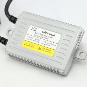 Low Price 35W/55W Canbus Slim HID AC/DC Ballast X5/ 18 Months Warranty