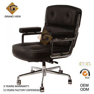 Black Leather Eames Office Chair (GV-ES104) pictures & photos