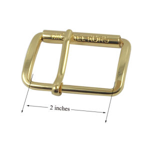 OEM Design Gold Plated Customized Metal Belt Buckle pictures & photos