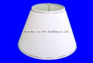 Round Lamp Shade Plain Sticked Lamp Cover PT018
