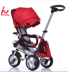 2017 New Model 4 in 1 Kids Baby Tricycle pictures & photos