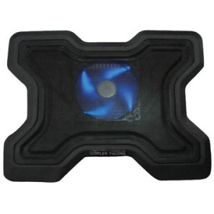 Single Fan Cooling Pad with 4 LED Light Style No. CF-107 pictures & photos