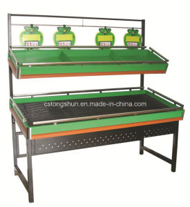 Supermarket Fruit&Vegetale Shelf/Display Stand pictures & photos