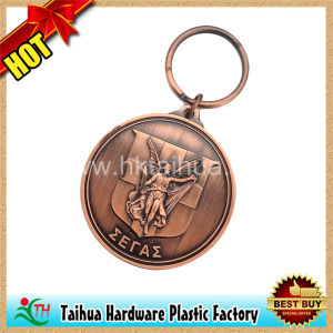 Plated Copper Metal Souvenirs Keychains (TH-mkc012) pictures & photos