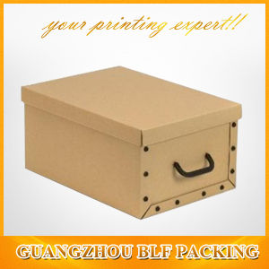 Rectangular Storage Drop Front Shoe Paper Gift Box pictures & photos