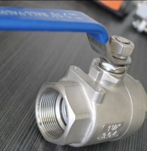 2PC Stainless Steel Ball Valve NPT Threaded 1000 Wog pictures & photos