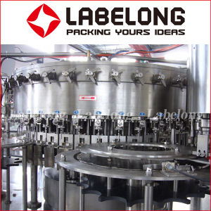 Glass Bottle Sparkling Water/Alcohol /Wine Filling Machine/Packing Machine pictures & photos