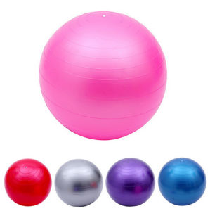 Custom Fitness Pure Color Thick Explosion-Proof Eco-Friendly Wholesale Yoga Balls pictures & photos