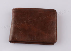 2016 Men Money Leather Wallet pictures & photos