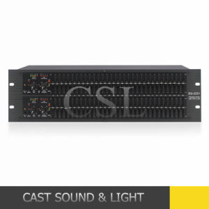 Professional 2231 Dual Channel 31-Band Equalizer/Graphic Equalizer pictures & photos