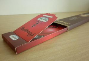 High Quality Coated Paper Eyelashes Box/ Wig Box