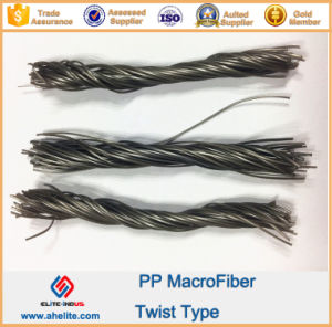 Reinforced Fiber PP Polypropylene Twist Fiber pictures & photos