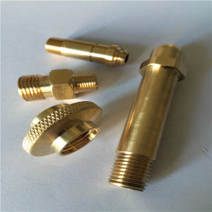 High Quality CNC Brass Machining Parts pictures & photos