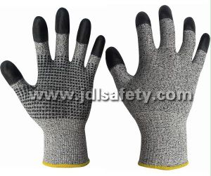 Cut Resistant Work Glove with Dots (SD8036) pictures & photos