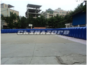 Long Size Inflatable Billboard Set on Sports Center for Advertising
