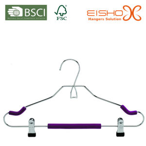 High Quality Wire Hanger for Pants (HHS-1003) pictures & photos