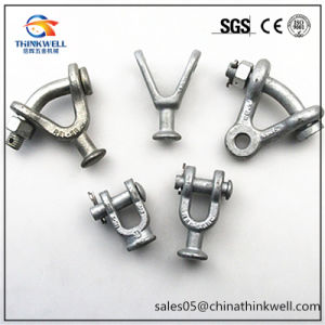 120kn Pole Line Fitting Forged Clevis Tongue pictures & photos