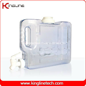 3L Slim Freezer Water Jug Wholesale BPA Free with Spigot (KL-8011) pictures & photos