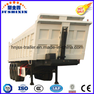 High Quality 3 Axle Rear Dump Dump Semi Trailer pictures & photos