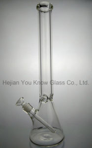 9mm Thickness 20 Inches Big Glass Pipe Glass Beaker Water Pipes Beaker Hookah pictures & photos