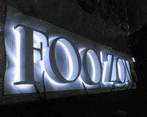 Custom Illuminated Acrylic LED Backlit Letter Sign pictures & photos