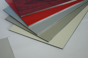Alucoworld Popular PVDF Aluminum Composite Panel pictures & photos
