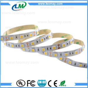 UL Listed High Lumen 14.4W 60LED SMD5050 LED Strips pictures & photos