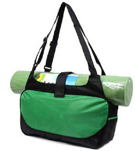 Microfiber Yoga Mat Tote Carrying Handbags Gym pictures & photos