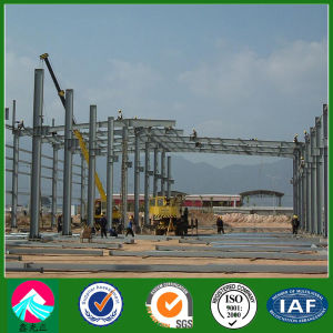 Galvanized Steel Structure / Steel Frame Building (XGZ-SSW 217) pictures & photos