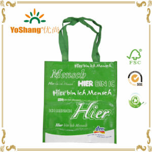 Colorful OPP Film Laminated Plastic Woven Tote Bag/Handle Type PP Woven Bag pictures & photos