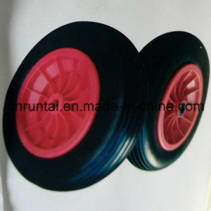 "Salable 16"" & 14"" PU Foam Wheel for Wheelbarrow or Trolley pictures & photos"