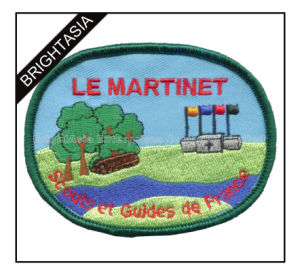 Promotional Embroidery Patch for France for Unifrom Use (BYH-10968) pictures & photos