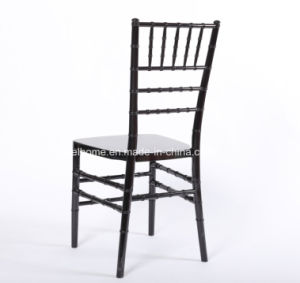 Black Color Resin Chiavari Chair for Wedding/Event/Party pictures & photos