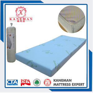 High Quality Compressed and Roll up Bamboo Memory Foam Mattress pictures & photos