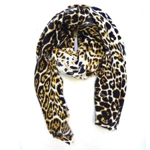 New Leo Fashion Silk Pashmina Stole Scarf for Lady pictures & photos