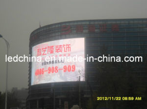 P10 Outdoor Curved LED Video Billboard pictures & photos