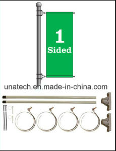Advertising Outdoor Lamp Pole Flex Sign Banner Hardware Arm pictures & photos