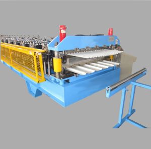 Double Layer Steel Panel Cold Roll Forming Machine
