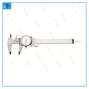 Best Selling Precision Shock Proof Dial Caliper pictures & photos