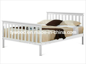 Double Bed Pine 4′6 Double Bed Wooden Frame pictures & photos