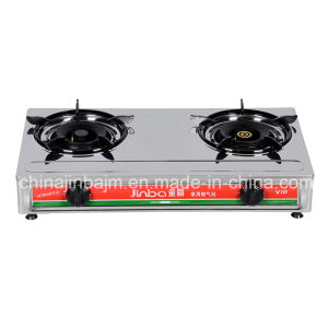 2 Burner Stainless Steel 710mm Gas Stove/Gas Cooker pictures & photos