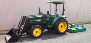 40HP Farm Tractor with Front End Loader pictures & photos