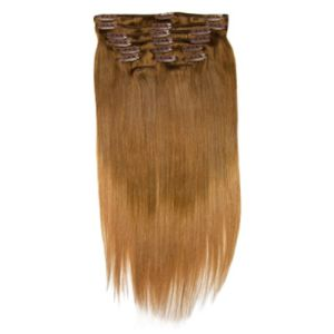 Double Drawn Ombre Color Luxury Clip in Human Hair Extension pictures & photos